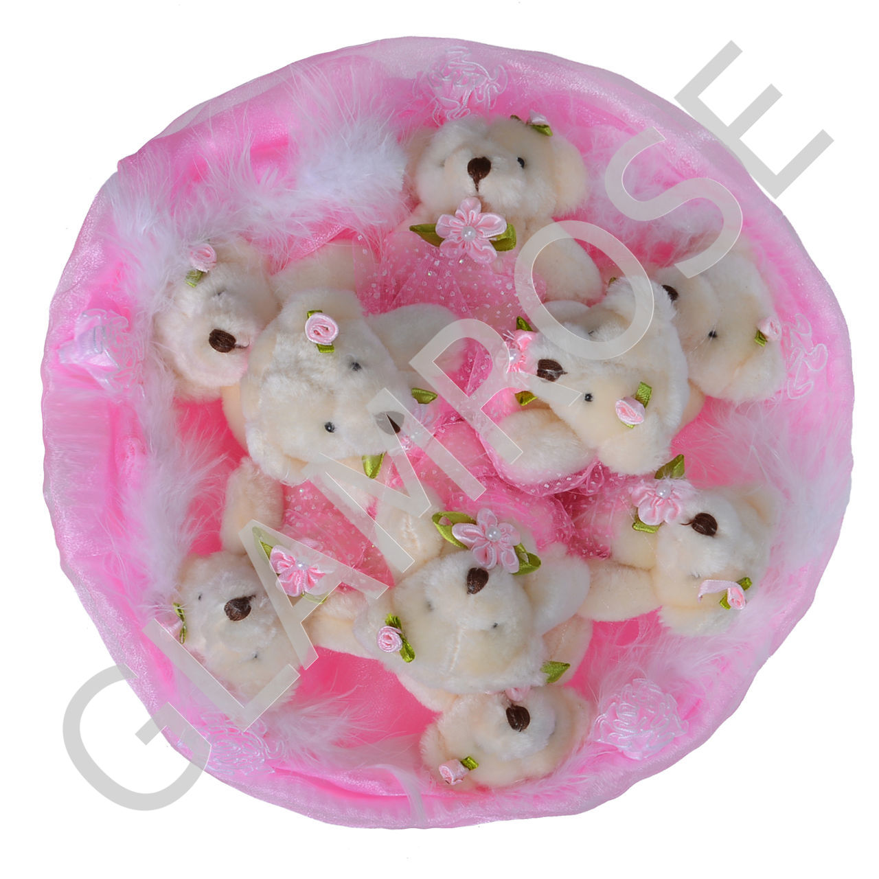 Заказать букет из мишек спб самоцветы уурашения купить опт